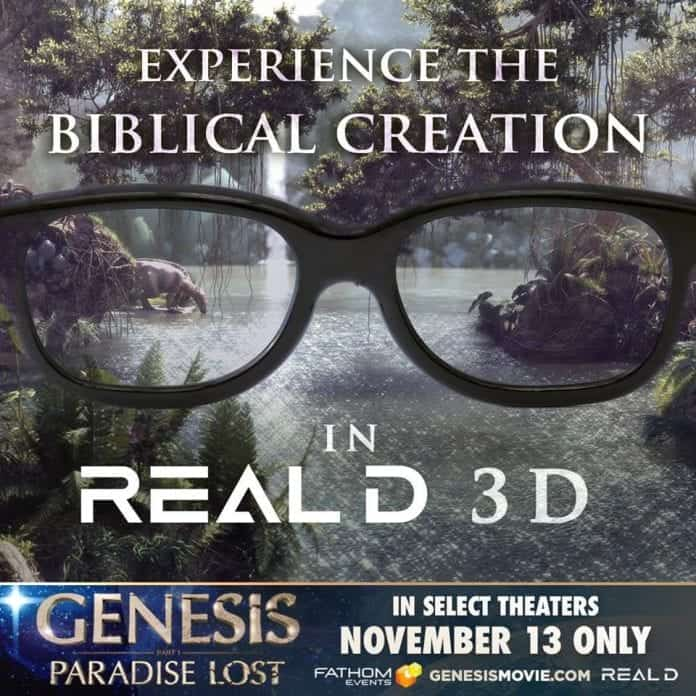 Genesis - Biblical creation in real 3D