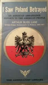 I saw Poland Betrayed - book cover